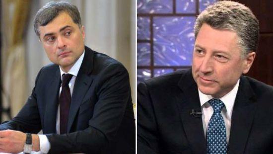 Стали известны подробности встречи Волкера и Суркова