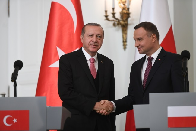 Poland in favour of Turkey joining EU: Polish president