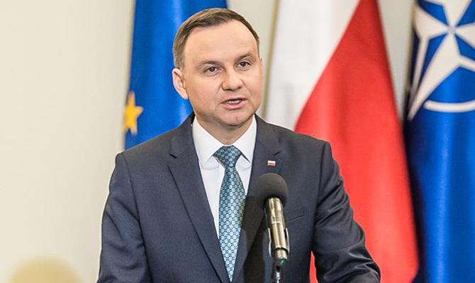 Польша поддерживает введение миротворцев ООН на Донбасс, - Дуда