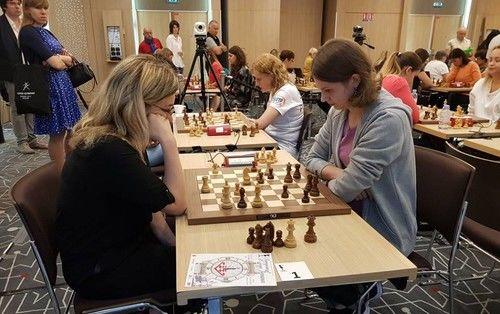 Украинская шахматистка Анна Музычук выиграла чемпионат Европы по быстрым шахматам