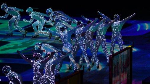 Церемония закрытия Олимпиады-2018 глазами украинцев: невероятные фото