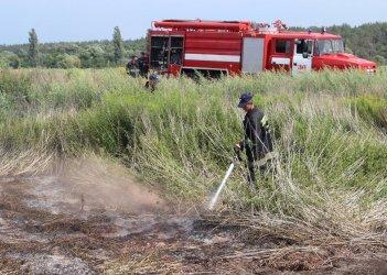 Спасатели ликвидировали пожар на 90 га в Днепропетровской области