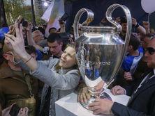 Кубок ЛЧ привезли в Украину 21 апреля
