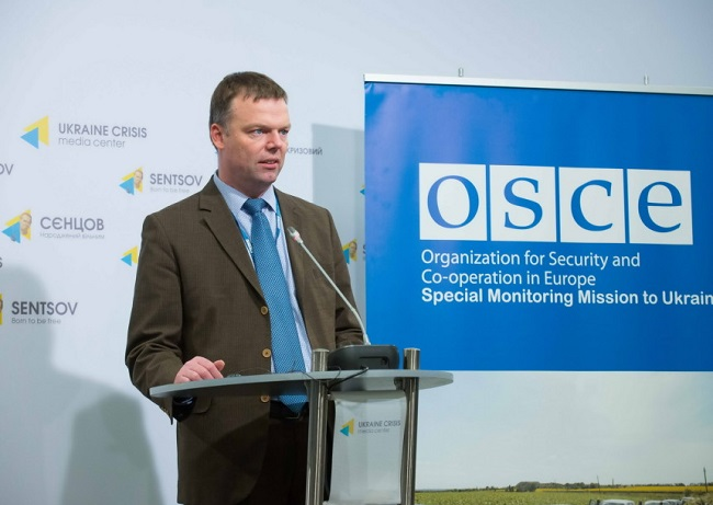 ОБСЕ: Растет число жертв среди мирных жителей Донбасса
