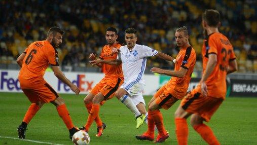 Скендербеу - Динамо: где смотреть онлайн матча Лиги Европы