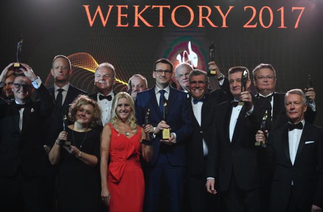 Премьер Польши получил престижную экономическую награду «Супервектор»