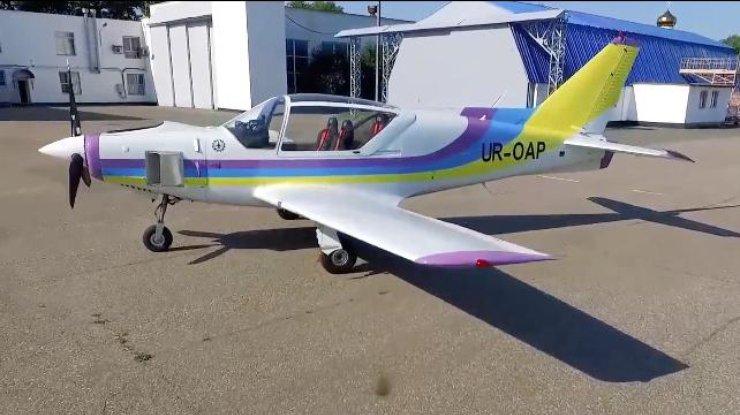 В Украине испытали новый самолет (видео)