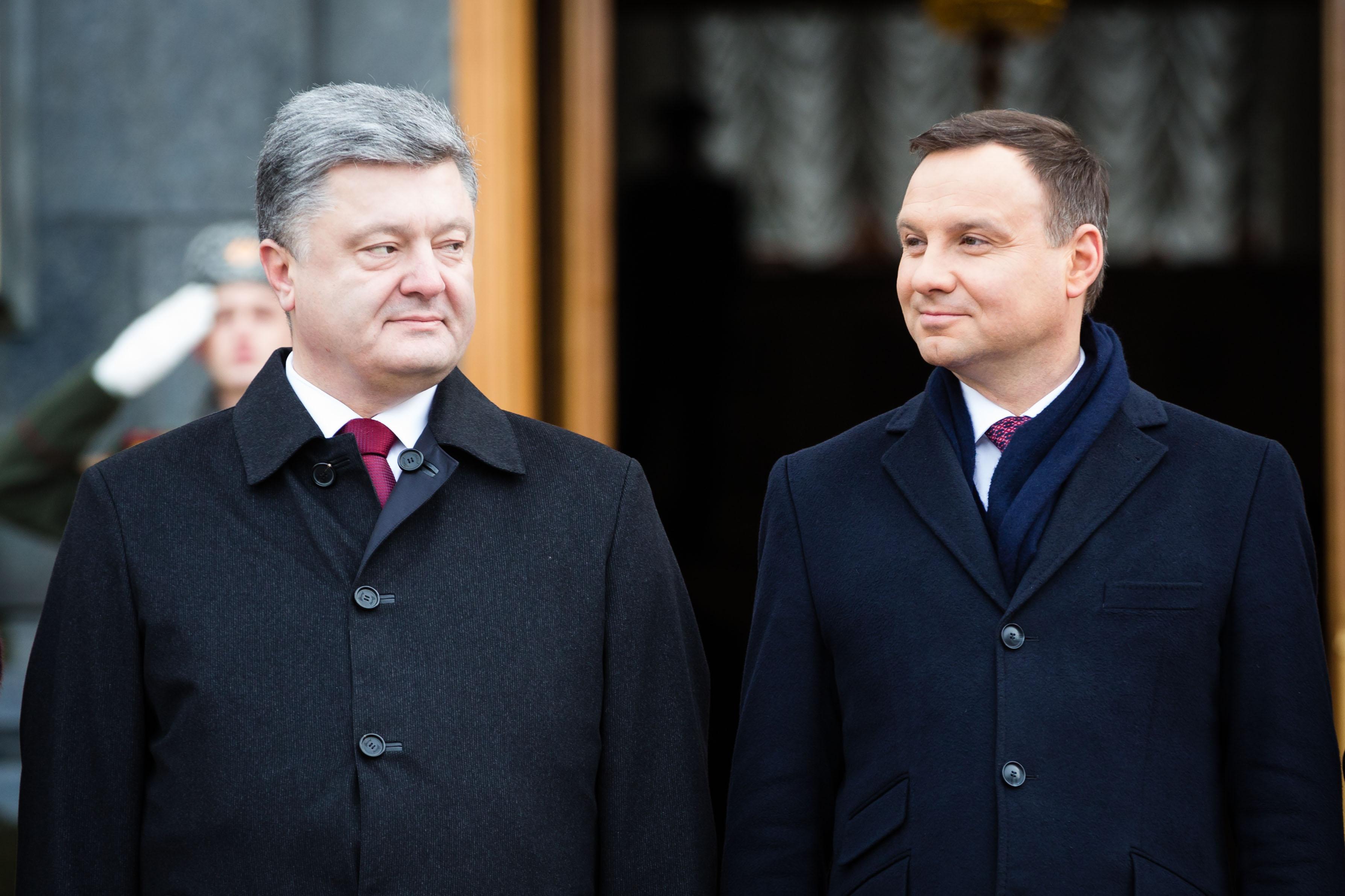 Роковая опечатка: На сайте президента Польши назвали Петра Порошенко Виктором