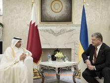 Порошенко встретился с премьером Катара