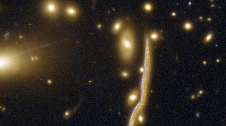 Ученые сделали снимок космической змеи