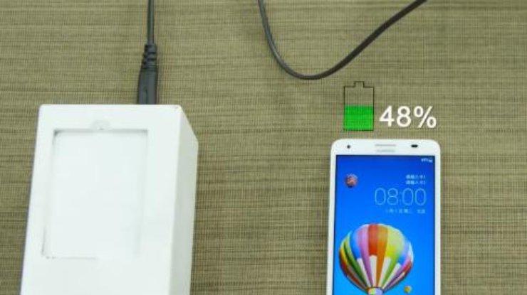 Huawei покажет технологию сверхбыстрой зарядки смартфона (видео)