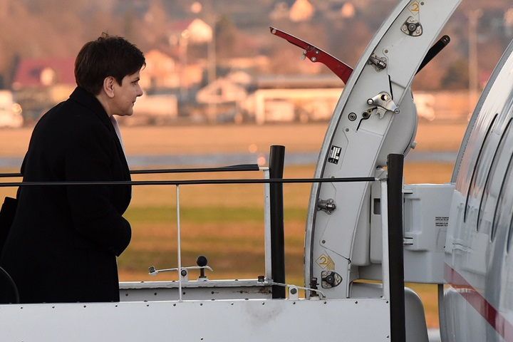 Polish PM in Albania on working visit