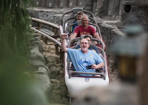 Безработный ветеран посещал Диснейленд две тысячи дней подряд, - ФОТО