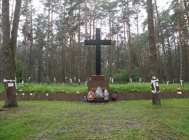 В Быковне почтили память убитых НКВД поляков