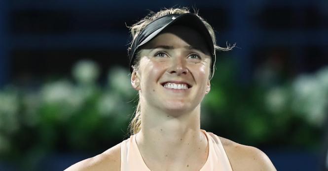 Свитолина выиграла турнир в Дубае - ВИДЕО
