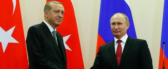 Эрдоган и Путин обсудили операцию в Африне Обновлено 20:14