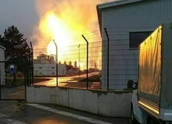 Пожежу на газовому хабі біля Баумгартена повністю загасили