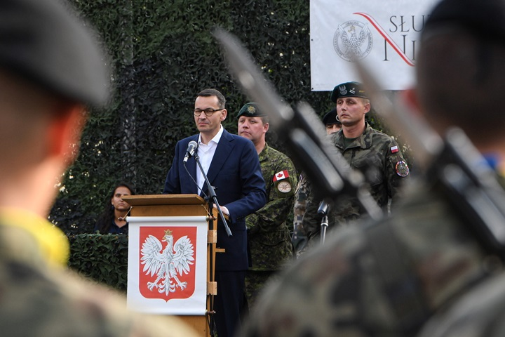 PM's trip to Latvia underlines Poland's role in NATO - aide