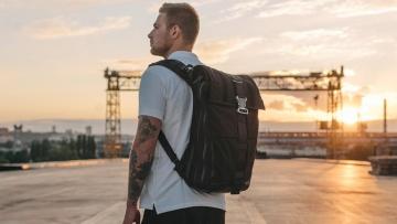 Украинский рюкзак-трансформер HURU собрал $52 тыс на Kickstarter