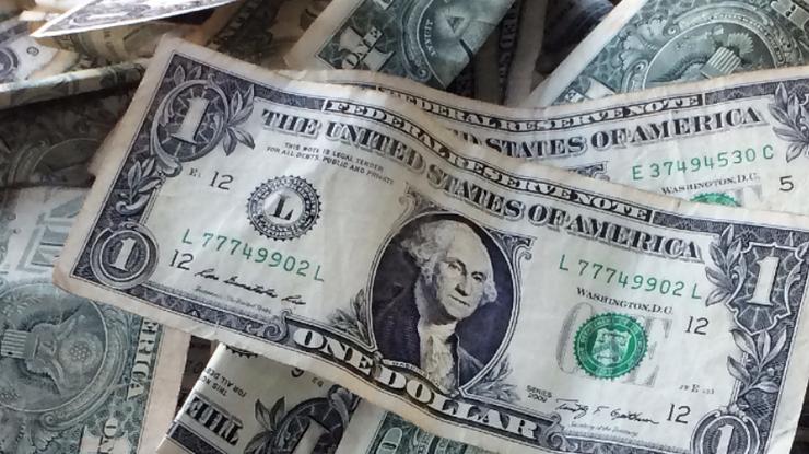 Курс доллара в Украине снова упал