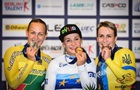 Басова и Климченко принесли Украине медали ЧЕ по велотреку