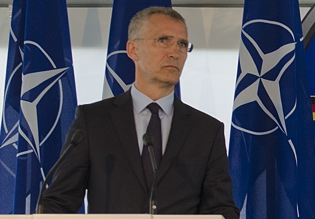 NATO chief comes to Warsaw ahead of Russia-Belarus war games