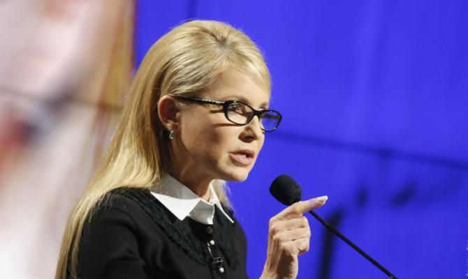 Тимошенко призывает не допустить досрочных парламентские выборов в Украине