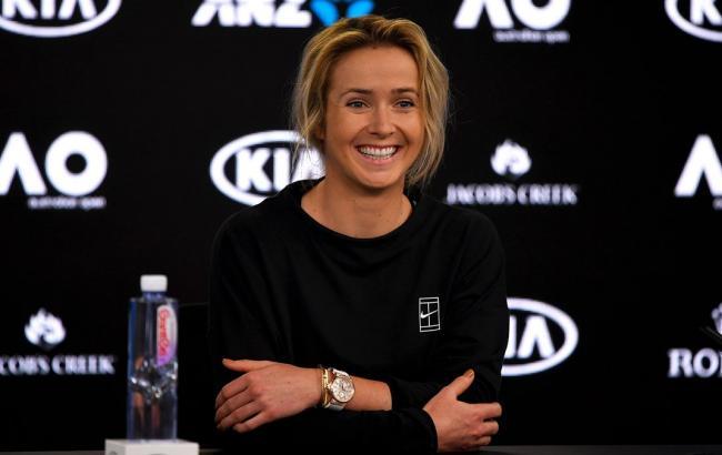 Теннис: Я вижу себя первой ракеткой мира, - Свитолина