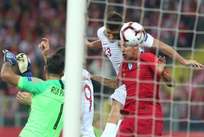 Football: Poland lose 2-3 to Portugal in Nations League
