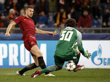 Джеко забил единственный мяч на Стадио Олимпико