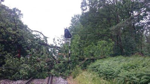 Мощная буря пронеслась Польшей: есть погибшие и раненые – фото последствий непогоды