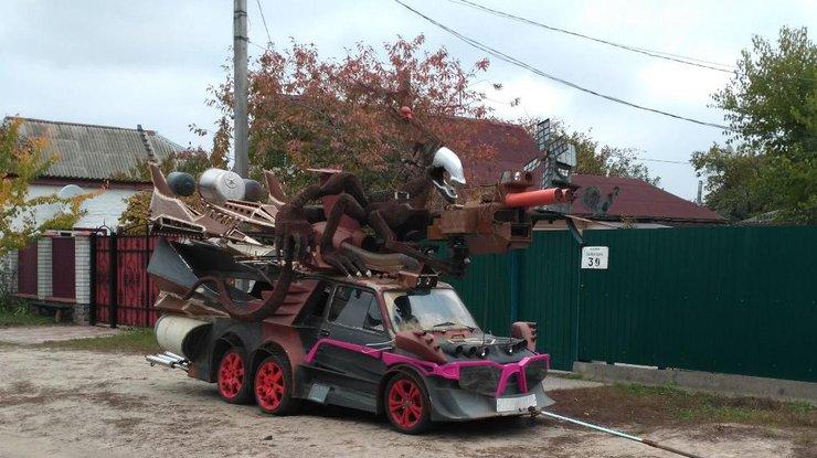 В Украине создали автомобиль-чудовище (фото)