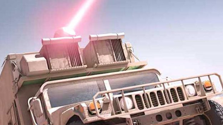 Ослепляет и оглушает: в США разработали лазерное оружие