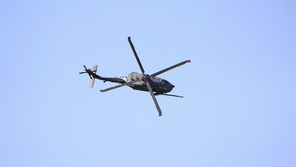Во Франции рухнул вертолет