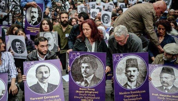 Турция осудила признание Нидерландами геноцида армян в Османской империи