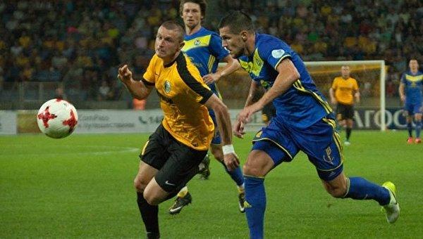 Александрия сыграла вничью с БАТЭ в плей-офф отбора Лиги Европы