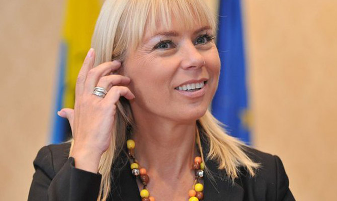 Еврокомиссар Беньковская посетит Киев 27 марта