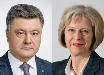 Poroshenko invites May to visit Ukraine
