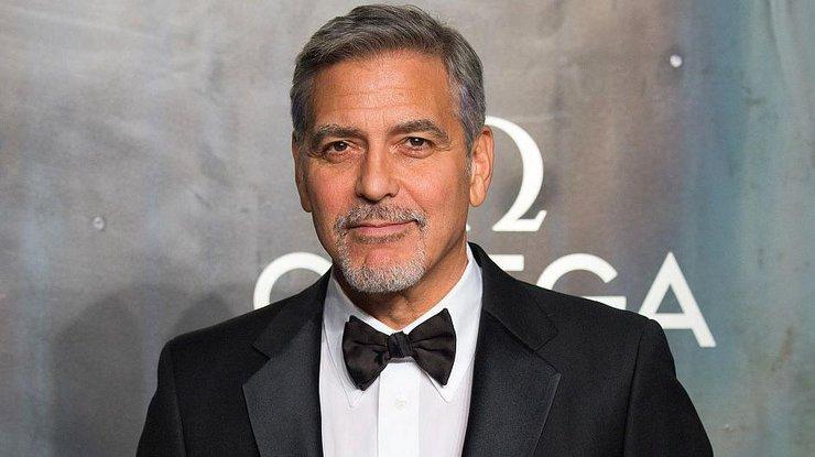 Джордж Клуни разбился на мотоцикле