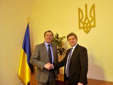 14 февраля Мюллер обсудил реформы в Украине с министром финансов Данилюком