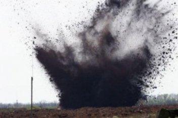 У зоні АТО на власних мінних загородженнях підірвалося двоє російських військових, один загинув