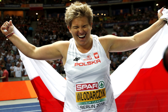 Athletics: Gold for Poland's Włodarczyk in Berlin