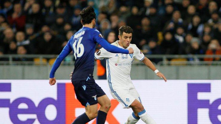 Лига Европы: результаты матча Динамо-Лацио