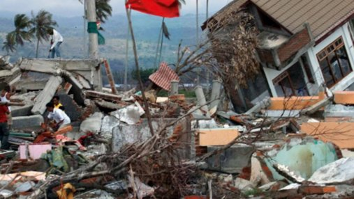 Индонезийский остров Ломбок снова всколыхнуло мощное землетрясение