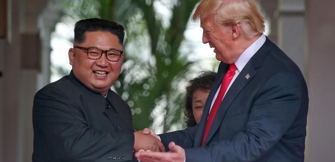 Трамп заявил об хороших отношениях с Ким Чен Ыном