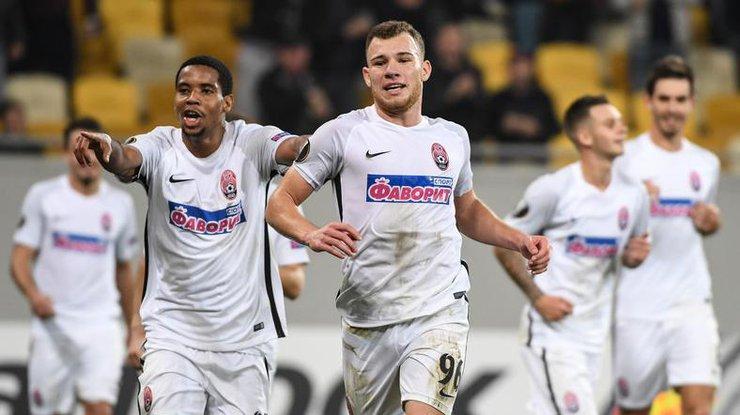Заря - Герта: результаты матча Лиги Европы