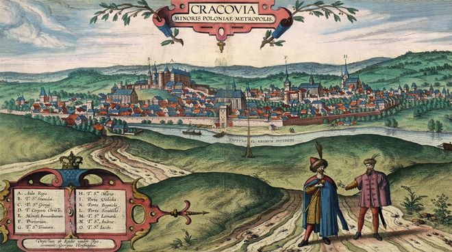 Литва: відкриття мультимедійної виставки про Краків