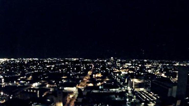 В США упал метеор (видео)