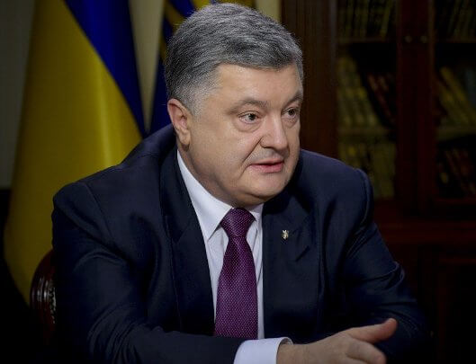 Poroshenko calls on Israel to take measures to improve situation with admission of Ukrainian citizens to the country, taking into account visa-free regime