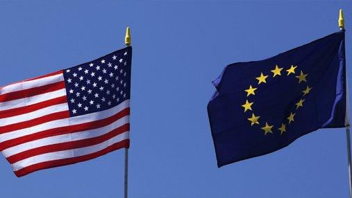 Сегодня вступили в действие санкции Евросоюза на товары из США